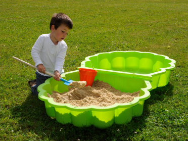 Bac à sable coquillage SANDY