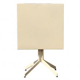 Table pliante en aluminium 2 personnes pour balcon