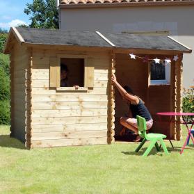 Maisonnette en bois ROSANE + AUVENT - SOULET