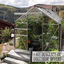 Serre de jardin en verre trempé Lams ALLIUM 7,30 m²