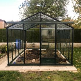 Serre en verre trempé Lams ESSENTIA 16,40 m² - Coloris au choix