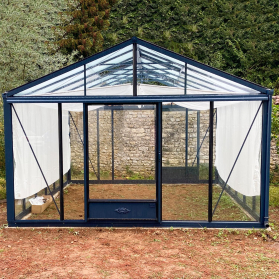 Serre en verre trempé Lams SUPRA 23,00 m² - Coloris au choix