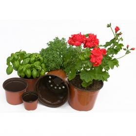 Godets - lot de 3 pots ronds Ø30cmxH.10cm