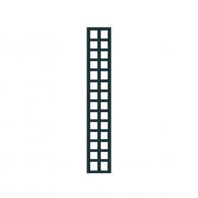 Treillage colonne 0,30 m x H.1,97 m maille carrée - Anthracite