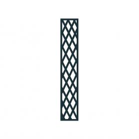 Treillage colonne 0,30 m x H.1,97 m maille losange - Anthracite